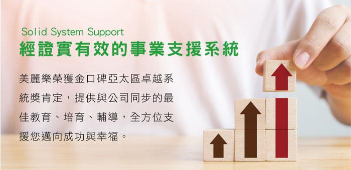 經證實有效的事業支援系統